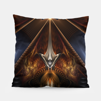 Miniatur Arteknyia Fantasy Fractal Art Composition Pillow, Live Heroes