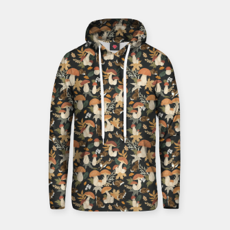 Miniatur Rabbits and mushrooms Sudadera con capucha, Live Heroes