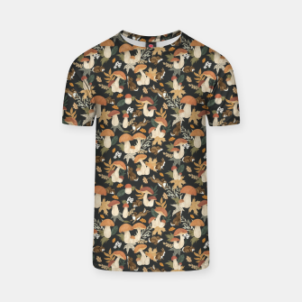 Miniatur Rabbits and mushrooms Camiseta, Live Heroes
