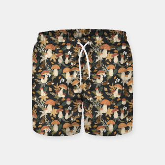 Miniatur Rabbits and mushrooms Pantalones de baño, Live Heroes