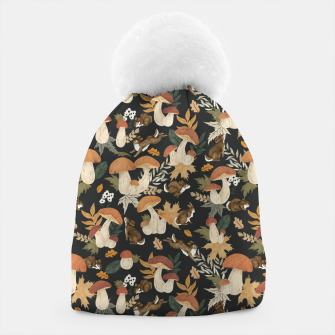 Miniatur Rabbits and mushrooms Gorro, Live Heroes