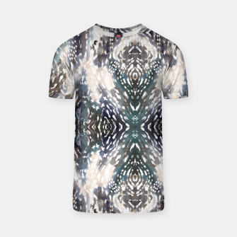Miniatur Modern abstract 57b Camiseta, Live Heroes