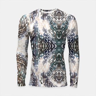 Thumbnail image of Modern abstract 57b Longsleeve rashguard, Live Heroes