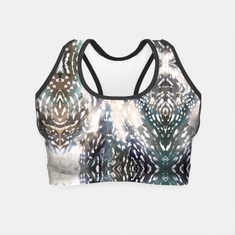 Miniatur Modern abstract 57b Crop Top, Live Heroes