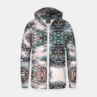 Thumbnail image of Modern abstract 57c Sudadera con capucha y cremallera , Live Heroes
