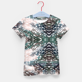 Thumbnail image of Modern abstract 57c Camiseta para niños, Live Heroes