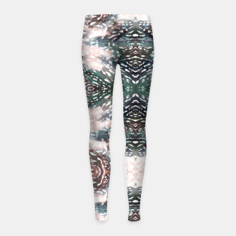 Miniatur Modern abstract 57c Leggings para niña, Live Heroes