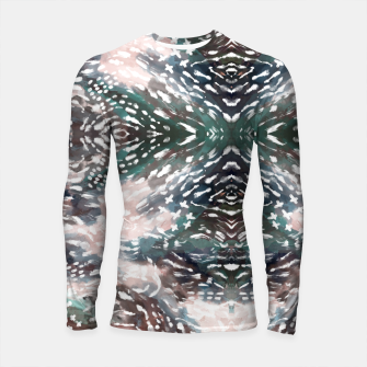 Thumbnail image of Modern abstract 57c Longsleeve rashguard, Live Heroes