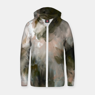 Thumbnail image of Modern strokes paint 85 Sudadera con capucha y cremallera , Live Heroes