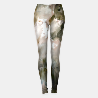 Thumbnail image of Modern strokes paint 85 Leggings, Live Heroes