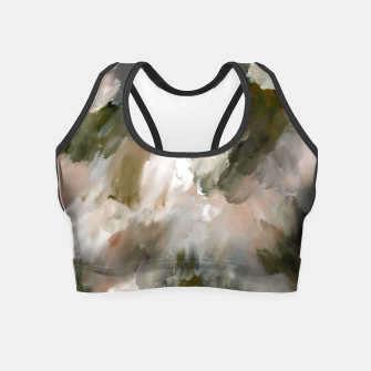 Thumbnail image of Modern strokes paint 85 Crop Top, Live Heroes
