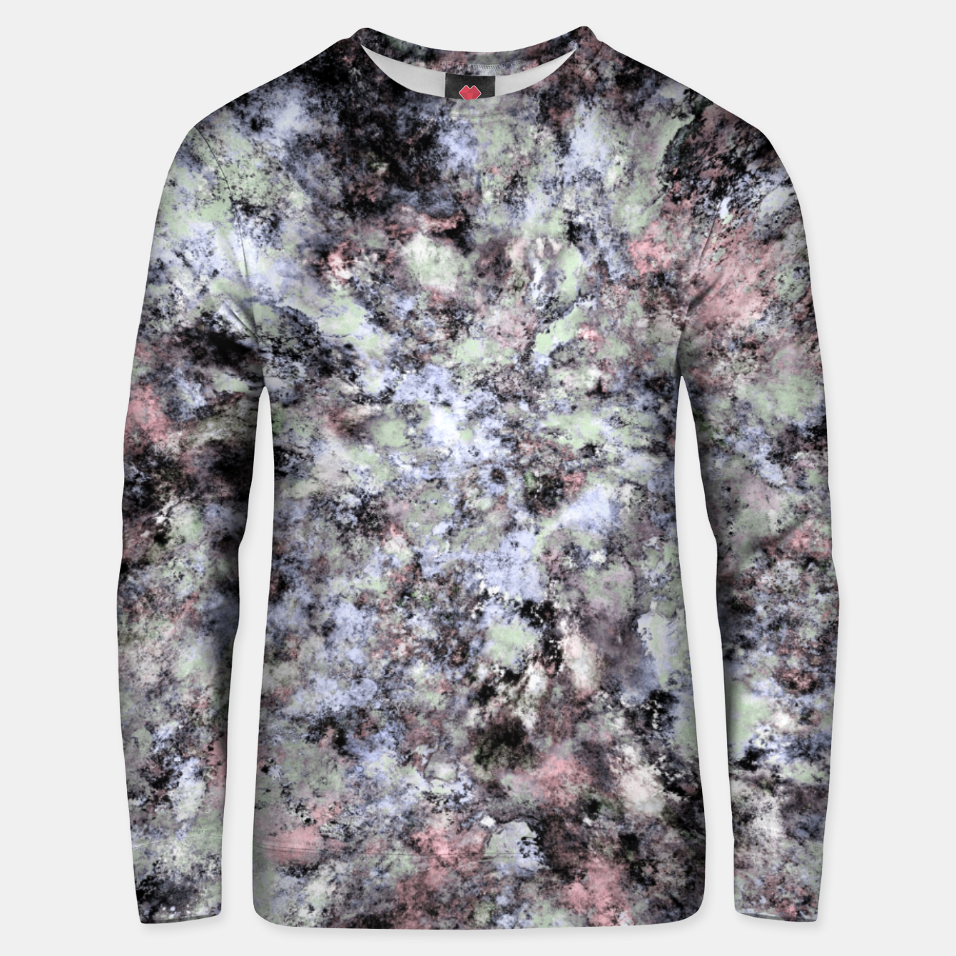 Image of From a safe distance Unisex sweater - Live Heroes