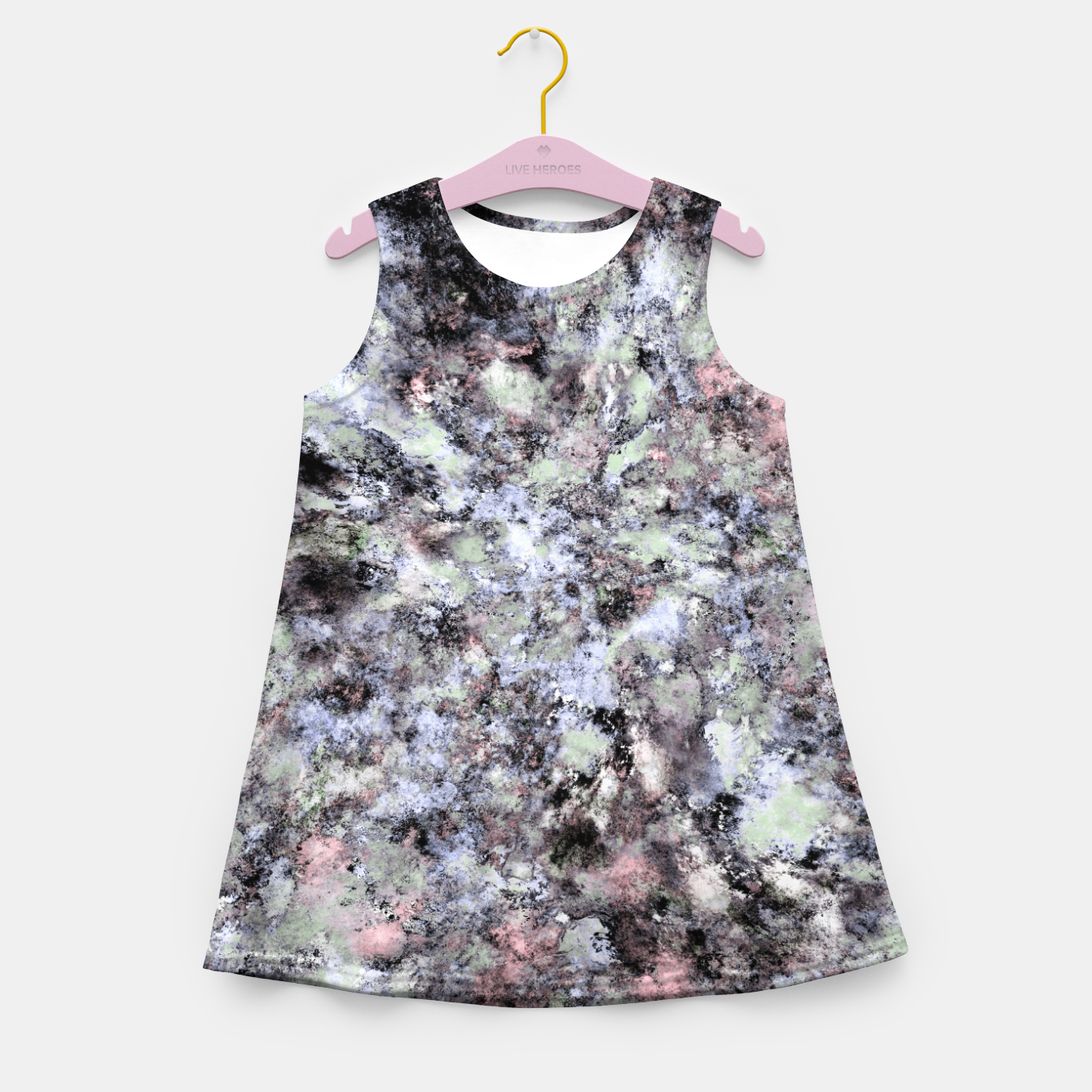Image of From a safe distance Girl's summer dress - Live Heroes