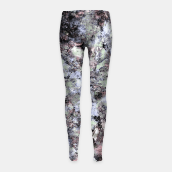 Thumbnail image of From a safe distance Girl's leggings, Live Heroes