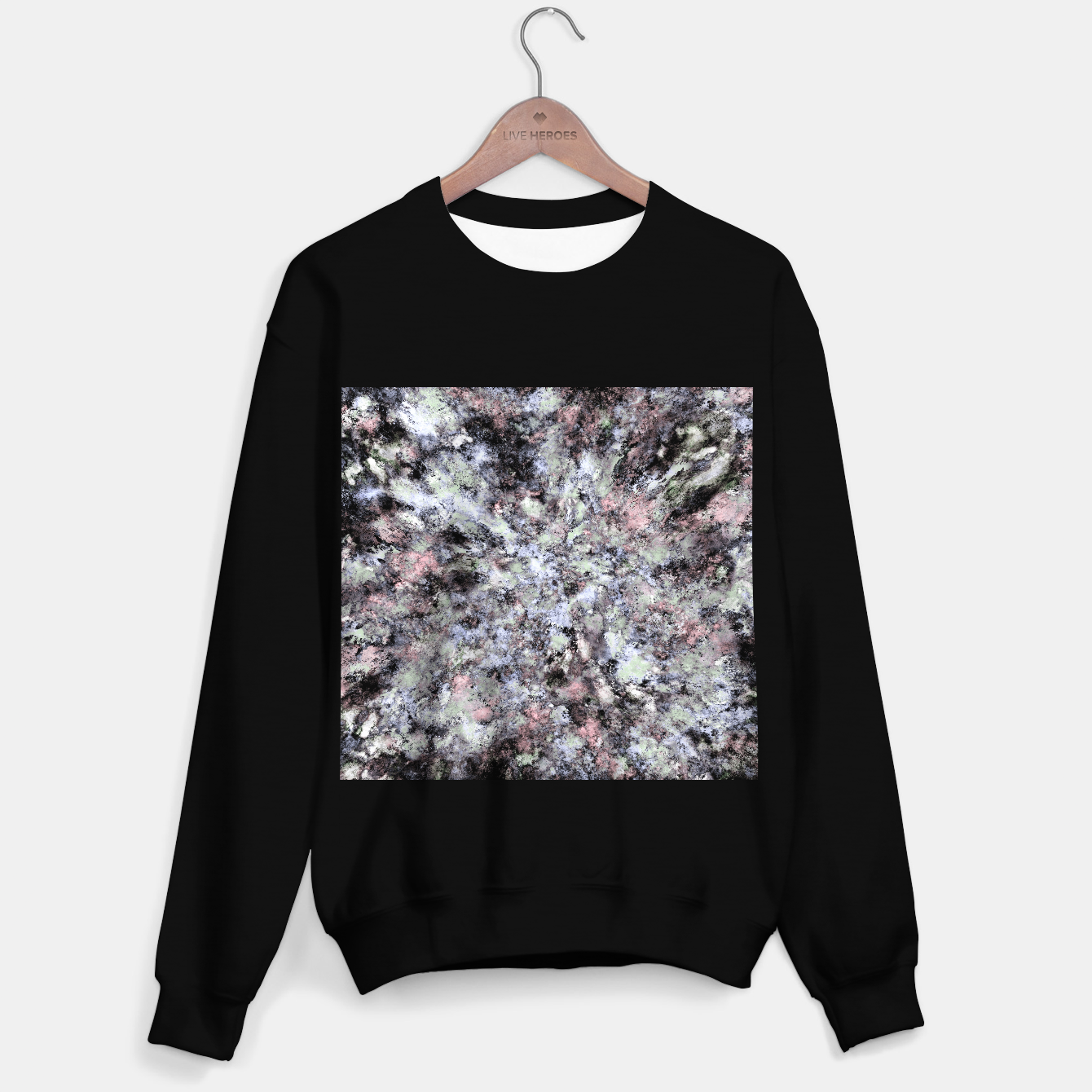 Image of From a safe distance Sweater regular - Live Heroes