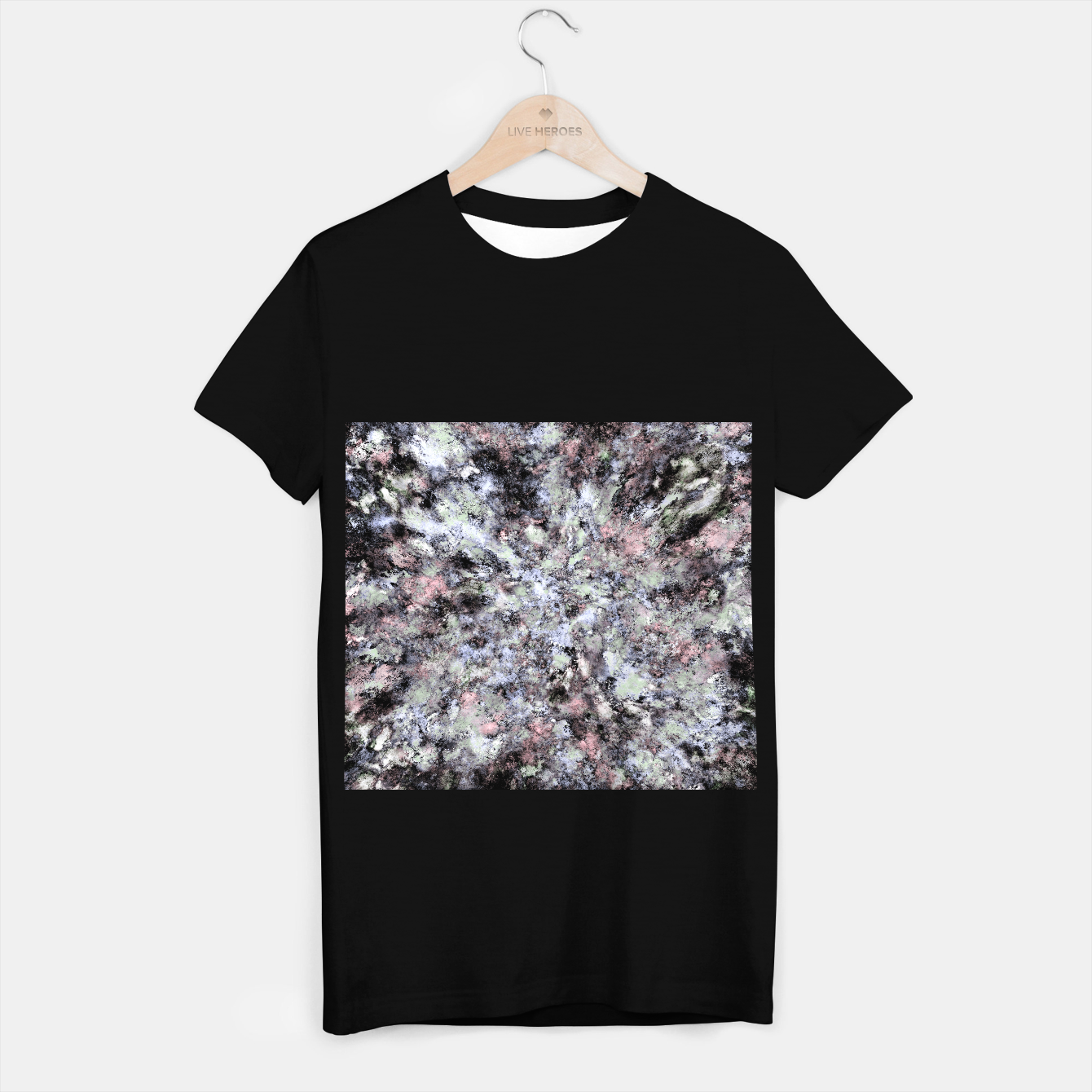 Image of From a safe distance T-shirt regular - Live Heroes