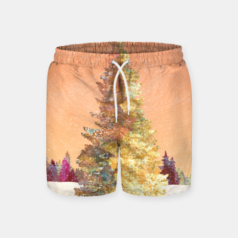 Thumbnail image of One christmas tree Swim Shorts, Live Heroes