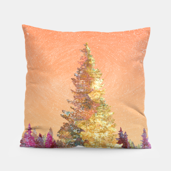 Thumbnail image of One christmas tree Pillow, Live Heroes