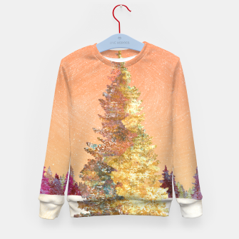 Thumbnail image of One christmas tree Kid's sweater, Live Heroes