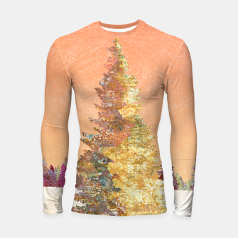Thumbnail image of One christmas tree Longsleeve rashguard , Live Heroes