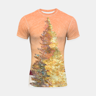 Thumbnail image of One christmas tree Shortsleeve rashguard, Live Heroes