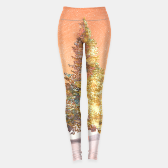 Thumbnail image of One christmas tree Leggings, Live Heroes