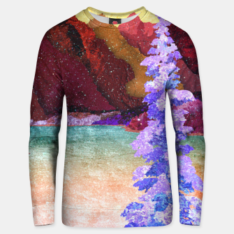 Miniatur One winter Unisex sweater, Live Heroes