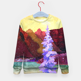 Thumbnail image of One winter Kid's sweater, Live Heroes