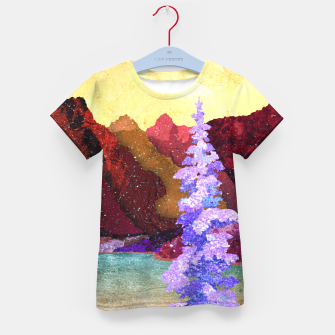 Thumbnail image of One winter Kid's t-shirt, Live Heroes