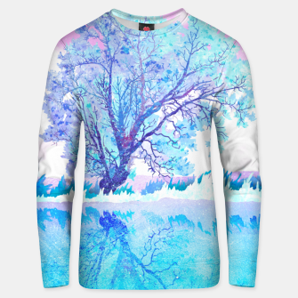 Miniatur One white tree Unisex sweater, Live Heroes
