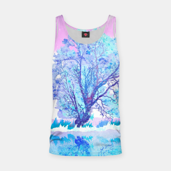 Thumbnail image of One white tree Tank Top, Live Heroes