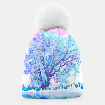 Thumbnail image of One white tree Beanie, Live Heroes
