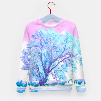 Thumbnail image of One white tree Kid's sweater, Live Heroes