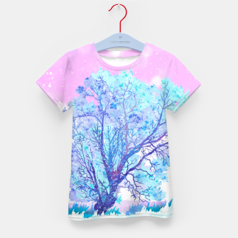 Thumbnail image of One white tree Kid's t-shirt, Live Heroes