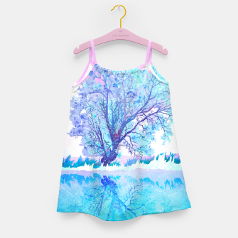Imagen en miniatura de One white tree Girl's dress, Live Heroes