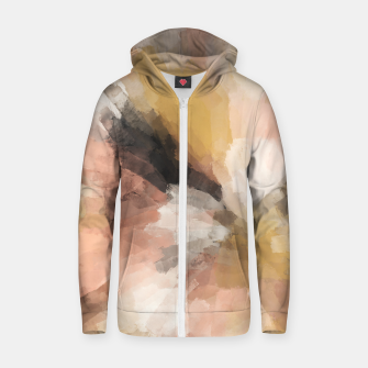Thumbnail image of Sunset brushstrokes 1 Sudadera con capucha y cremallera , Live Heroes