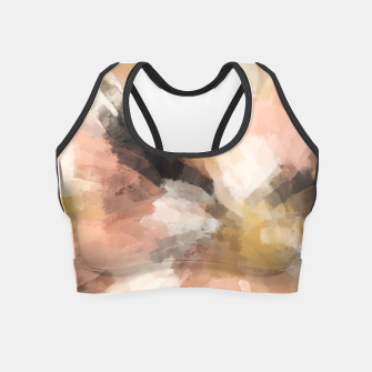 Thumbnail image of Sunset brushstrokes 1 Crop Top, Live Heroes