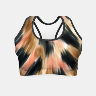 Thumbnail image of Modern animal print 21 Crop Top, Live Heroes