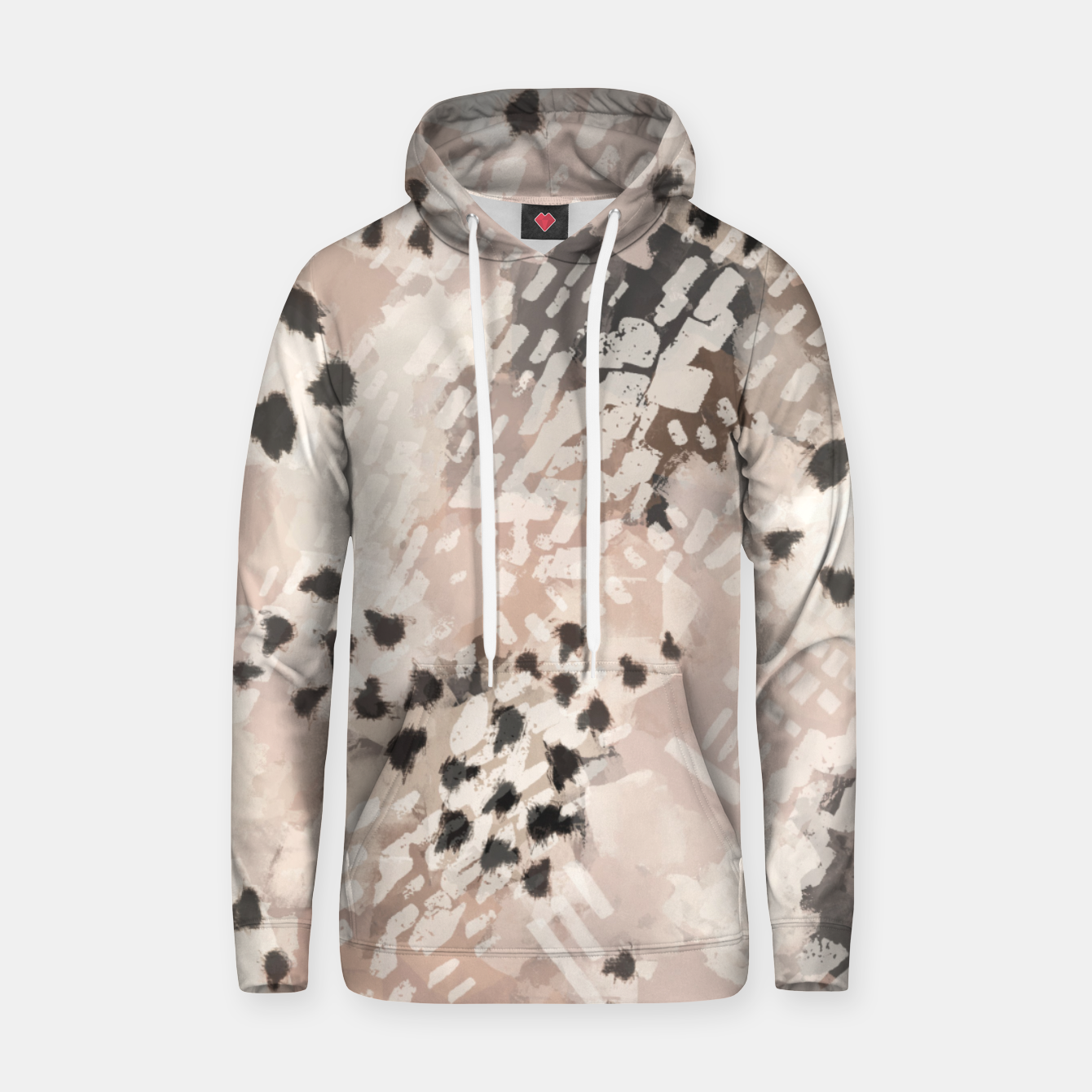 Image of Modern animal print 80 Sudadera con capucha - Live Heroes