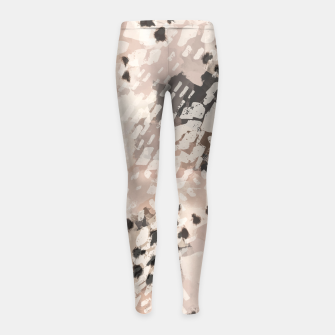 Thumbnail image of Modern animal print 80 Leggings para niña, Live Heroes