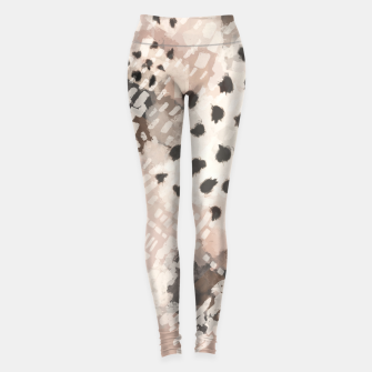 Thumbnail image of Modern animal print 80 Leggings, Live Heroes
