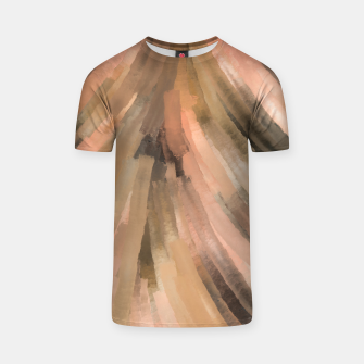 Warm brush strokes 77 Camiseta thumbnail image