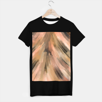 Warm brush strokes 77 Camiseta Regular thumbnail image