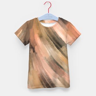 Thumbnail image of Warm brush strokes 77 Camiseta para niños, Live Heroes
