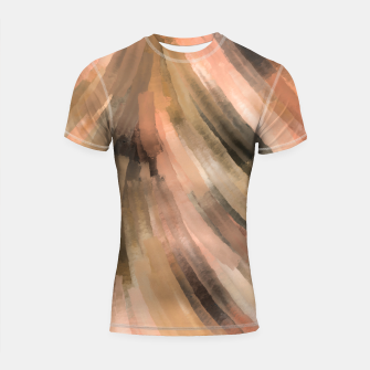 Warm brush strokes 77 Shortsleeve rashguard thumbnail image