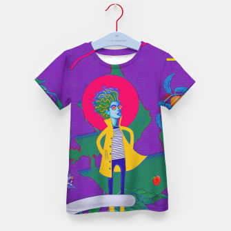 Thumbnail image of Peach Kid's t-shirt, Live Heroes
