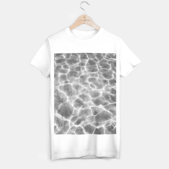 Thumbnail image of Crystal clear water, ocean bottom photography T-shirt regular, Live Heroes