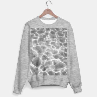 Miniatur Crystal clear water, ocean bottom photography Sweater regular, Live Heroes