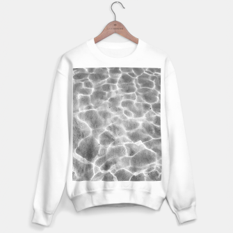 Miniature de image de Crystal clear water, ocean bottom photography Sweater regular, Live Heroes