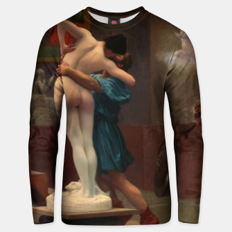 Thumbnail image of Pygmalion and Galatea by Jean-Léon Gérôme Classical Art Reproduction Unisex sweater, Live Heroes